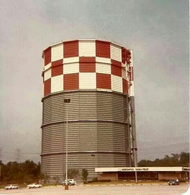 Tower Fuel Rule : Natural gas holding tower eastpoint mall · heritage