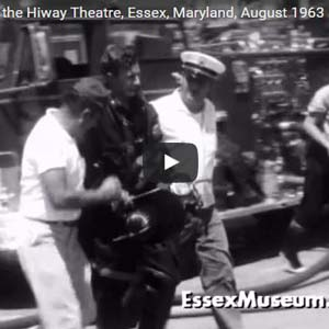 Fire at the Hiway Theatre, Essex, Maryland, August 1963