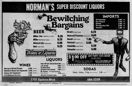 Avenue 1982-10-28 normans liquors