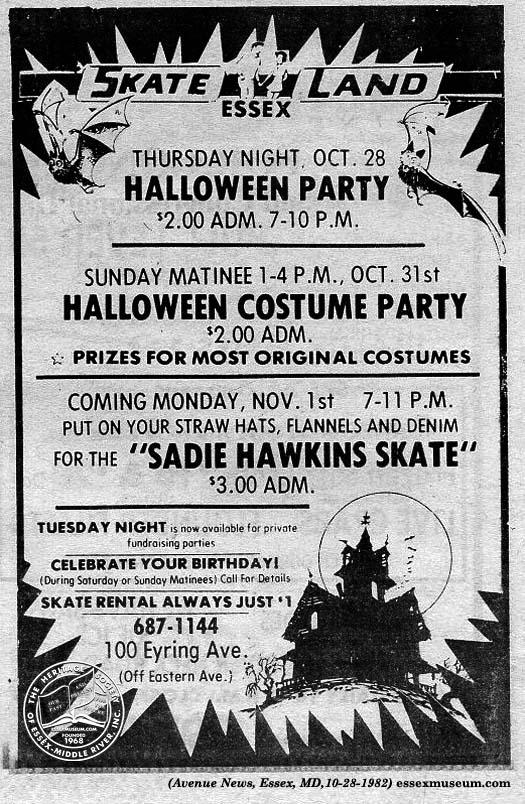 Avenue 1982-10-28 skateland