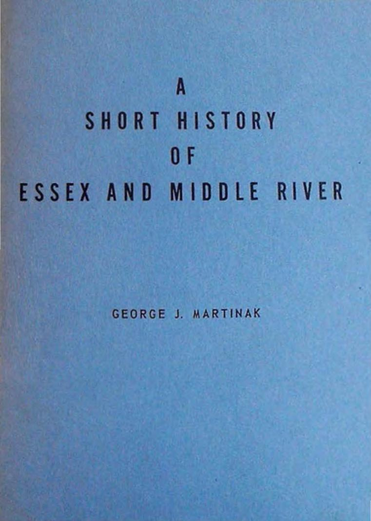 Short History of Essex and Middle River - Martinak - 1963_0000 (1)