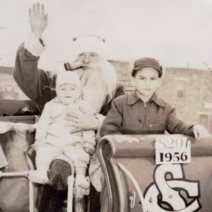 Santa Parades Down Eastern Avenue (1956)