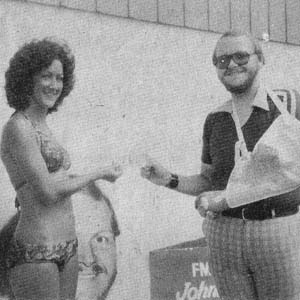 Bikini Contest at Guernsey Maid, 1978
