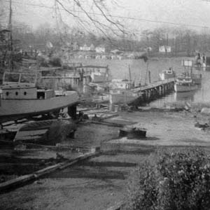 Deckleman's Marina, 1957