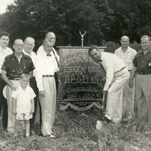 Essex Elk Lodge Groundbreaking, 1950s
