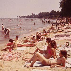 Rocky Point Beach, 1973
