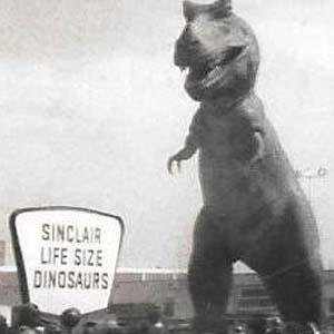 Sinclair Dinosaurs at Eastpoint, 1966