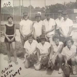 1960 Essex Rec Girls' Softball Team Wins Parkville Invitational Tourney, 1960