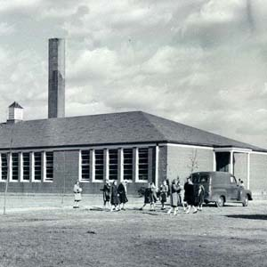 Back River Elementary School, 1950