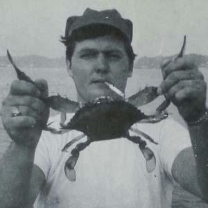 Charlie Seidel, commercial crabber, 1967