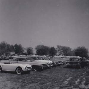 Classic Cars at Bull Roast, 1960s