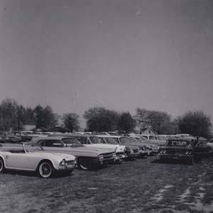 Classic Cars at Bull Roast, 1960s