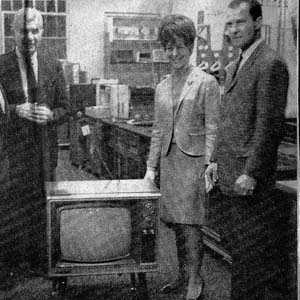 19″ Color TV Sweepstakes Winners, 1967