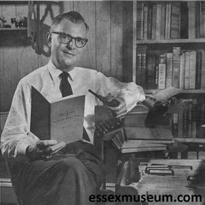 George Martinak's Term Paper that Became an Essex History Book, 1960s