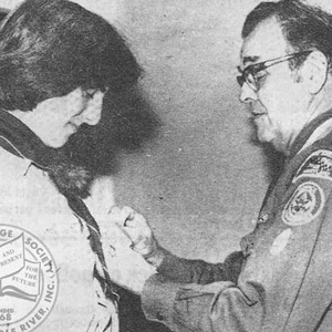 Scouts Receive Presitigious Awards, 1981