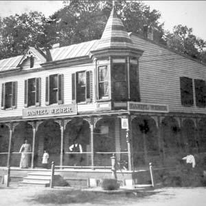 Weber's Store & Beer Garden, 1890s