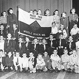 Cub Scouts Pack 766 Hawthorne/Middle River (1950s)