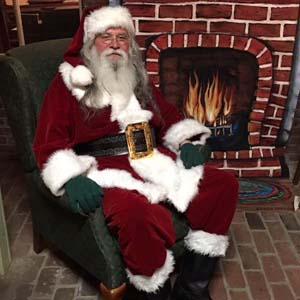 Rusty Sasser, Heritage Society Santa